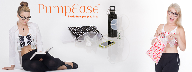 Pump Ease hands free pumping bras