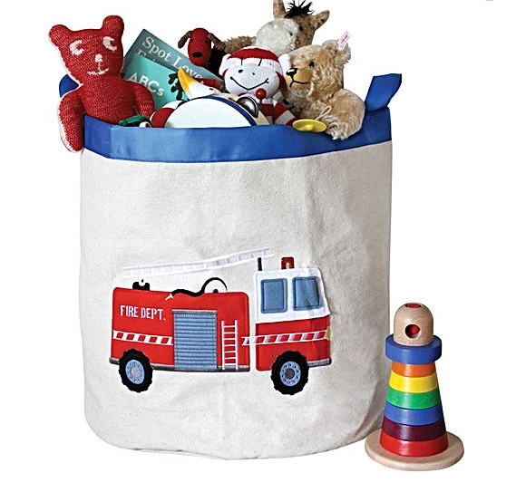 Smart toddler playroom storage