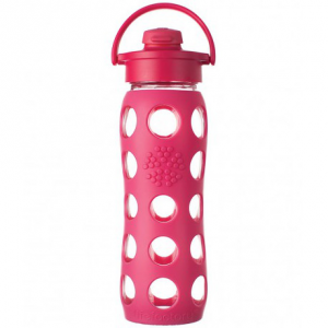 glass-water-bottles-650ml-lifefactory-flip-top-raspberry