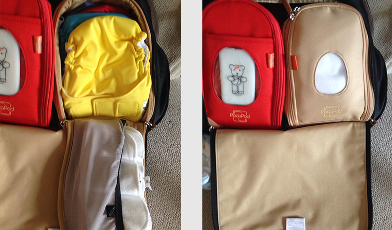 Pacapod Portland Nappy Bag