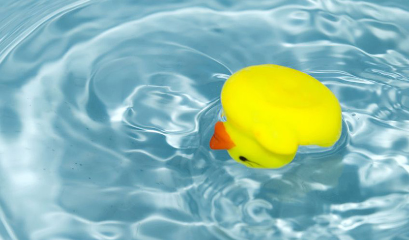 Duckbaby bath