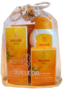 Weleda's Calendula baby products